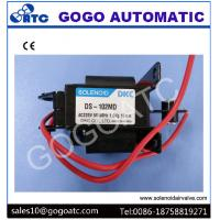 Quality Normally Open Water Pneumatic Solenoid Valve / Solenoid Pilot Valve With 15mm Stroke wholesale