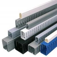 Best Anti - uv custom portable Solid Wiring Ducts, PVC Wall Wiring Ducts, plastic trunking for cables wholesale