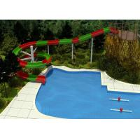 Buy cheap Spiral Water Slide Design Outdoor Swimming Pool Water Slide For Adult and Family from wholesalers