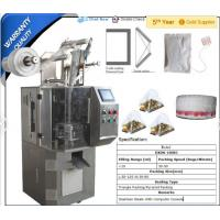 tea bag packing machine, Pyramid teabag packing machine, packing machine