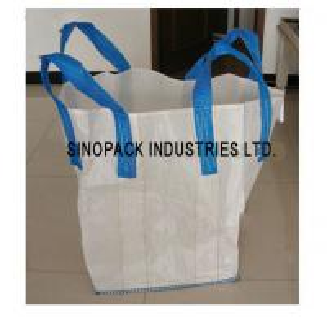 Best Flexible Intermediate Bulk Containers Circular / Tubular Big Bag Sand gravel soil trasportation wholesale
