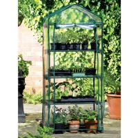Cheap 4 Tier Portable Mental Greenhouse Small Garden Trellis 69 X 49 X 158cm 4.8KG for sale