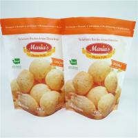 China Custom Printed Snack Food Packaging Bags Aluminum Foil Resealable For Cheese Puff on sale