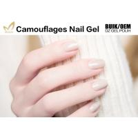 Best Long Lasting Uv Gel Builder , Nail Salon Gel Polish Camouflage For DIY Art wholesale