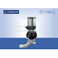 Buy cheap 316 L SS  Pneumatic Regulating Clamp U - C Tee diaphragm valve  with IL-TOP from wholesalers