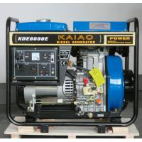 Best 6KW Diesel Generator Set  model KDE8600E KAIAO brand wholesale