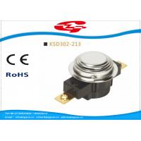 Best UL TUV Bimetal Snap Disc Thermostat KSD302 For Thermal Protecter Temperature Limiter wholesale