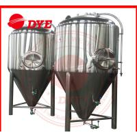 Best 1000L Automatic Conical Beer Fermenter , Micro Beer Brewing Equipment wholesale
