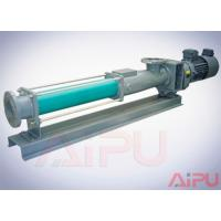 Best Aipu solids APG series S.S screw pump for centrifuge in drilling mud system wholesale