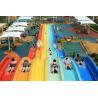 Buy cheap Water Sports Equipment Adult Rainbow Race Water Slide Fiberglass For Amusement Park from wholesalers