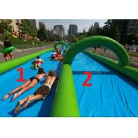 Best 50m Length Inflatable Slip And Slide Environmently Friendly For Outdoor Playing wholesale