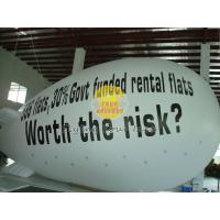 Best White Inflatable Giant Advertising Balloons blimps with Full digital printing for parties wholesale