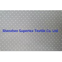 Best Cotton Twill Dot Print Elastic Stretch Fabric 32S 40D 180GSM wholesale