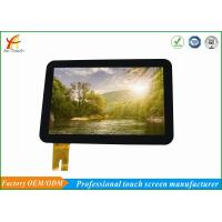 China High End LCD CTP Touch Screen Replacement Smooth Touch For Ticket Dispenser on sale