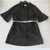 Best Chic Fashionable Winter Coats Flare Sleeves Snap Closure Womens Wool Winter Coats wholesale