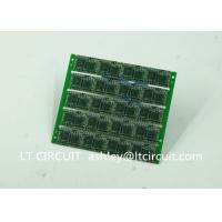 Cheap Four Layer Multilayer Printed Circuit  Custom Pcb Board 0.8MM Green Solder Mask for sale