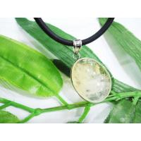 Best Yellow Agate Pendant, Lemon Jade Pendant Handmade Jewellery OEM wholesale