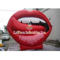 Best Giant Inflatable Advertising Products With Sexy Mouth / Lips Shape Model wholesale