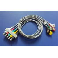 Best 8 Pin Philips 5 Lead Ecg Cable , M2406A / M1733a Ecg Trunk Cable 3.6m Length wholesale