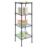 """Buy cheap 4 Layers Bathroom Lightweight Wire Storage Racks 14"""" W X 14"""" D X 54"""" H from wholesalers"""