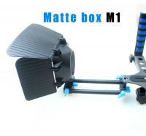 Cheap Matte Box 15 mm Rail Rod Support M1 for DSLR Camera 5DIII 60D 600D T3i D800 D90 for sale