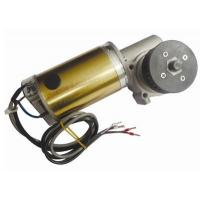 Best CW And CCW Round Brushed DC Automatic Sliding Door Motor 24V DC Worm Gear Box Long shaft wholesale