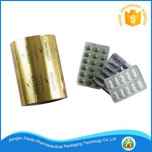 Best Blister Aluminium Foil Roll Pharmaceutical PTP Foil For Medical Packing wholesale