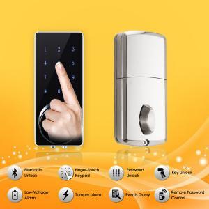 Best Bluetooth Full Smart Home System Finger Touch Keypad Password Door Lock wholesale