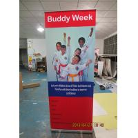 Best Outdoor Trade Show Display Banners , Tabletop Retractable Banner Water Resistant Print wholesale