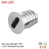 Cheap Aluminum 1W IP67 LED underground lights&LED Buried lighting for hotel outdoor stairs for sale