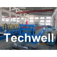 Best Steel Structure Floor Deck Roll Forming Machine for Roof Deck, Steel Tile TW-FD1250 wholesale