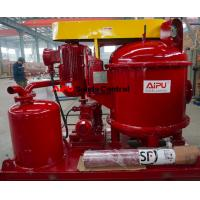 Best Aipu solids control vacuum degasser used in drilling fluid process system wholesale