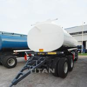 China 20CBM  Chemical liquid tank trailer  Asphalt tank trailer full trailer on sale