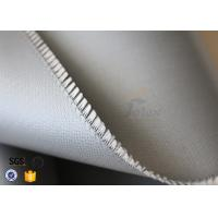 Buy cheap Silicone Rubber Coated Fiberglass Cloth For Thermal Insulation Valve Cover from wholesalers