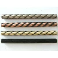 China Manufacture Twisted tubes steel stair baluster iron spindle electroplating cast iron twist baluster