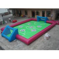 Best Interactive Sports Inflatable Outdoor Toys Abrasion Resistance Blow Up Football Pitch wholesale