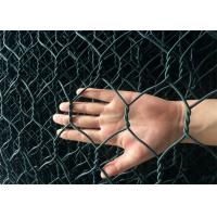 Cheap Foldable Green Colour Reno Gabion PVC Coated Wire Mesh Mattress Bunlde Packing for sale