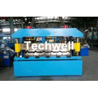 Best Automatical Steel Roof Wall Panel Roll Forming Machine With 13 - 20 Forming Station wholesale