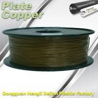 Best Eco Friendly Plated Copper PLA 3D Printer Filament PLA Material For 3D Printing wholesale