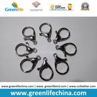 Best Good Quality Zinc Alloy 35mm Length 16mmID Big Size Lobster Clasp for Lanyard Attaching wholesale