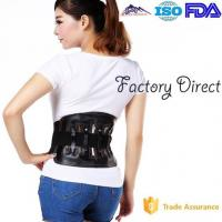 Buy cheap Elastic Leather Sports Protective Gear Back Braces For Lower Back Pain from wholesalers