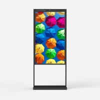 Buy cheap 55 Inch Window Advertising Display Window Facing 3000 Nits Lcd Digital Signage from wholesalers