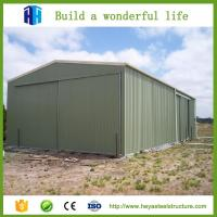 China HEYA fast building portable sheds plastic garages steel structure buildings on sale