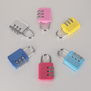Best Colorful Resettable Combination Padlock 3 Digit Password Suicase Padlock wholesale