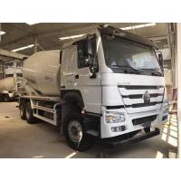 China 9 Cubic Meters Ready Mix Concrete Mixer Trucks , Concrete Mixing Transport Trucks on sale