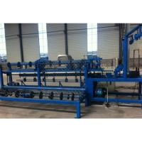 Best 2m-4m Width Full Automatic  Chain Link Fence Machine for make wire mesh fence wholesale