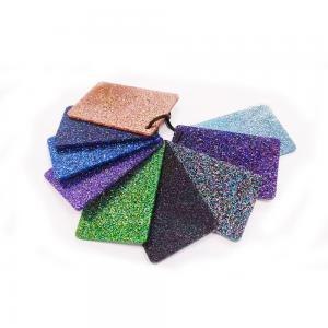 Best Decorative Shiny Glitter Acrylic Sheet 1050x1860mm 1220x2440mm wholesale
