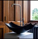 Best Modern Custom Carbon Fiber Bowl Black Color Matte / Dull Polish Surface wholesale