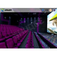Cheap 3D Glasses / 3D Film Movie Theater Seats Environment Effect Vibration Cinema Chairs for sale