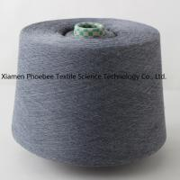 China 30s Waxed 100% Polyester Spun Yarn with Gray Color (Close Virgin) on sale
